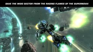Đồ họa và âm thanh Galaxy on Fire 2 HD